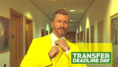 BT Sport Promo - Transfer Deadline Day 2015 with Robbie Savage and Lynsey Hipgrave (10)