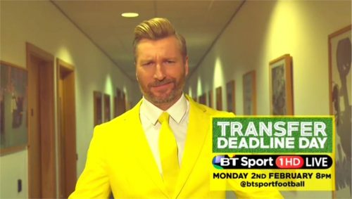 BT Sport Promo - Transfer Deadline Day 2015 with Robbie Savage and Lynsey Hipgrave (14)
