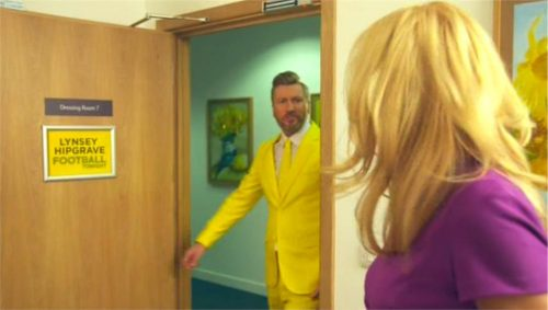 BT Sport Promo - Transfer Deadline Day 2015 with Robbie Savage and Lynsey Hipgrave (20)