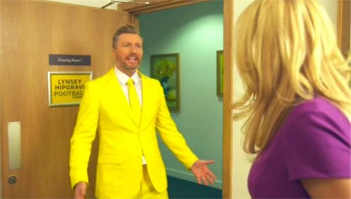 BT Sport Promo - Transfer Deadline Day 2015 with Robbie Savage and Lynsey Hipgrave (21)