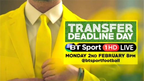 BT Sport Promo - Transfer Deadline Day 2015 with Robbie Savage and Lynsey Hipgrave (25)