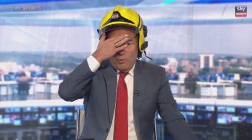 Jeff Stelling the Fireman