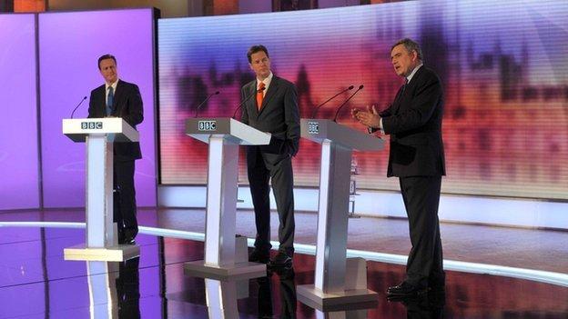 Leaders Debates 2010