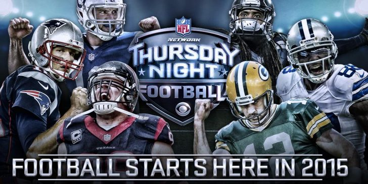 CBS & NFL Network to air Thursday Night Football in 2015
