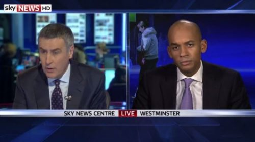 Sky News Dermot and Chuka