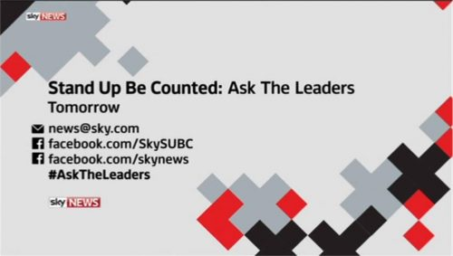 Sky News Promo 2015 - Ask The Leaders  (11)