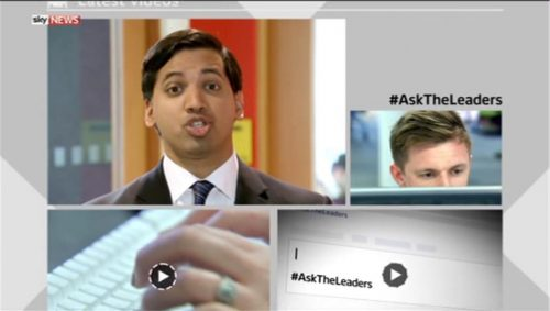 Sky News Promo 2015 - Ask The Leaders  (4)