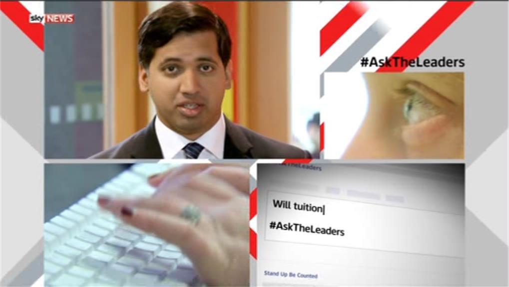 #AskTheLeaders – Sky News Promo 2015