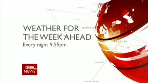 BBC News Promo - Weather for the week ahead (15)