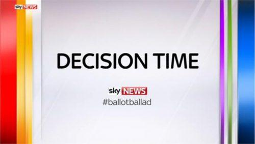 Sky News Promo 2015 - Decision Time - Ballot Ballad (14)