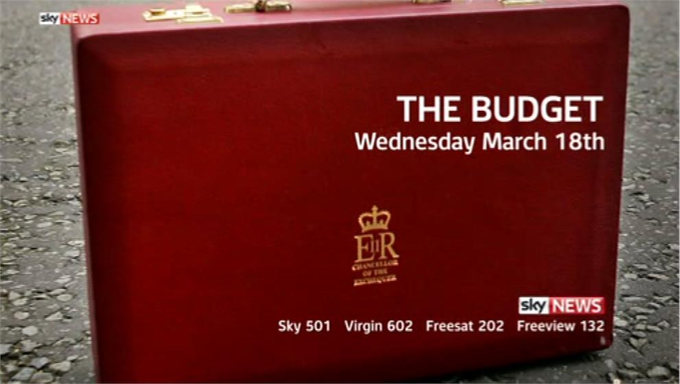 Budget 2015: Live Coverage on BBC News, ITV News & Sky News