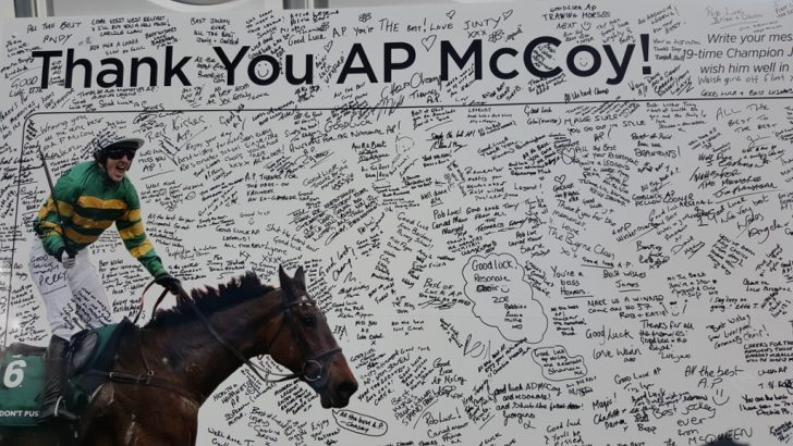 AP McCoy's racing farewell – Live from Sandown on Channel 4 Racing