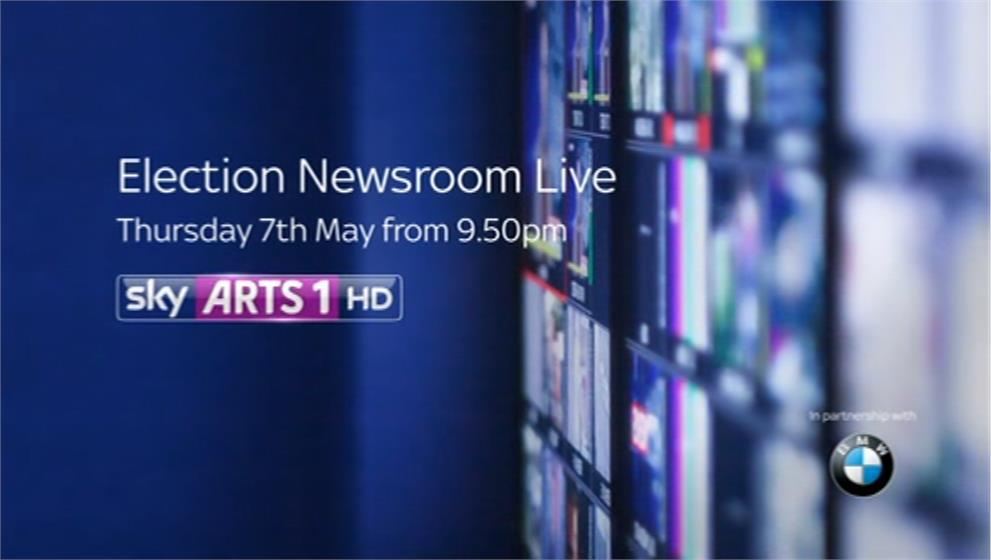 Election Newsroom Live on Sky Arts - Sky News Promo 2015