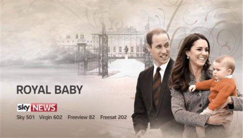 Sky News Promo 2015 - The Royal Baby (12)