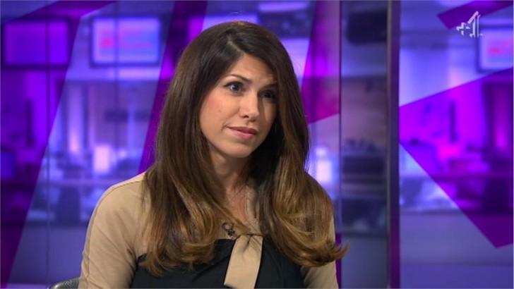 Helia Ebrahimi - Images of Channel 4 News Reporter (2)