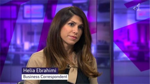 Helia Ebrahimi - Images of Channel 4 News Reporter (4)