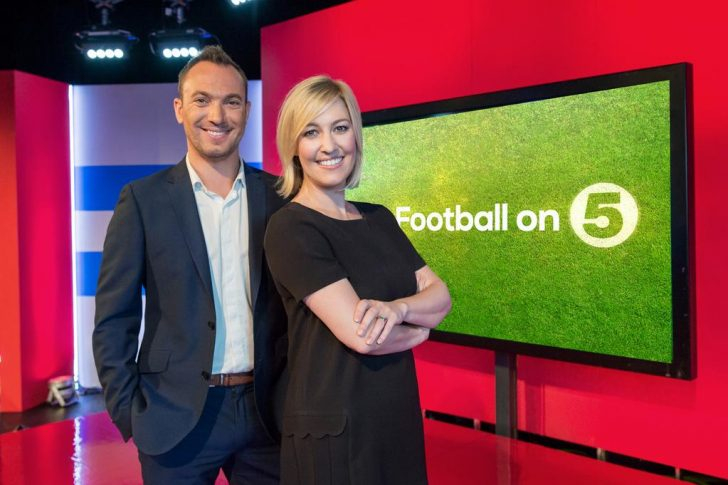 Kelly Cates, George Riley named presenters of Channel 5's Football League Tonight