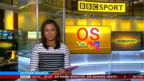 Natalie Lindo - BBC Sport News Presenter (1)