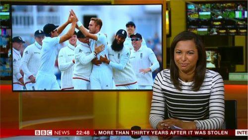 Natalie Lindo - BBC Sport News Presenter (2)
