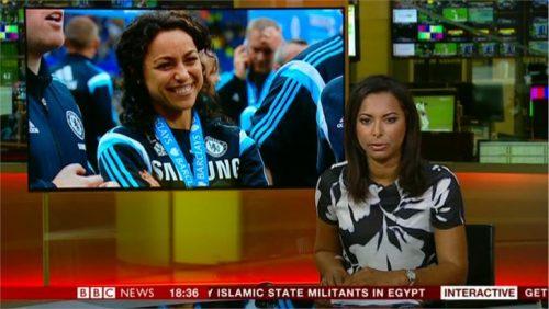 Natalie Lindo - BBC Sport News Presenter (3)