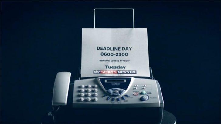 Transfer Deadline Day (Fax Machine) – Sky Sports News HQ Promo