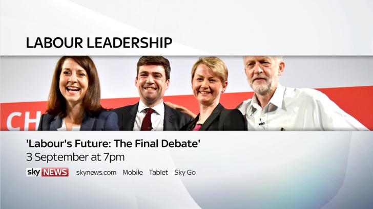 Sky News to host final Labour leadership debate