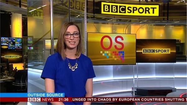 Sarah Walton BBC News Sports Presenter - Image (2)