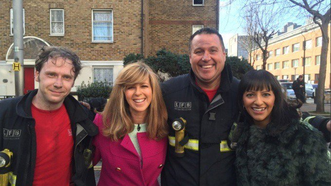 Good Morning Britain taken off-air due to fire at ITV Studios