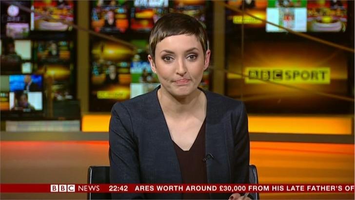 Delyth Lloyd - BBC Sport Presenter (1)