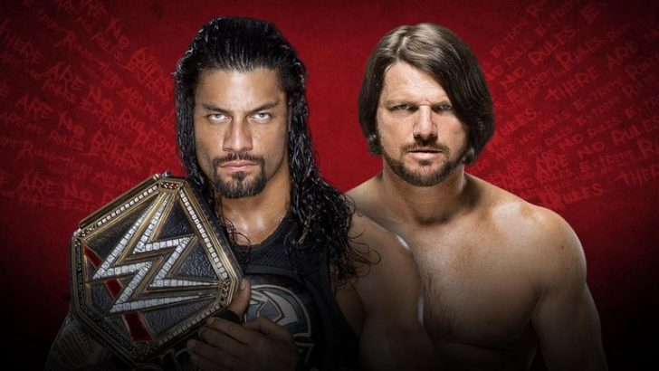 WWE Extreme Rules 2016 – Live on Sky Sports Box Office; Live Streaming on WWE Network
