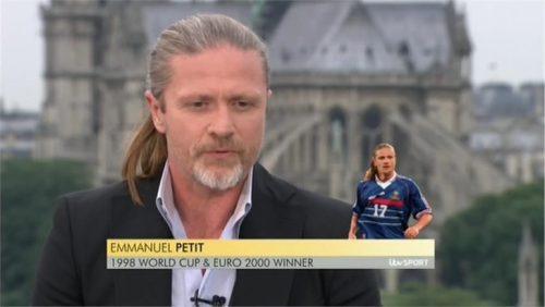 Emmanuel Petit - ITV Euro 2016 Pundit (1)