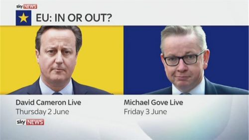 Sky News Promo 2016 - EU Debate - Kay Burley and Faisal Islam  (15)