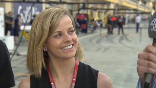Susie Wolff - Channel 4 F1 (2)