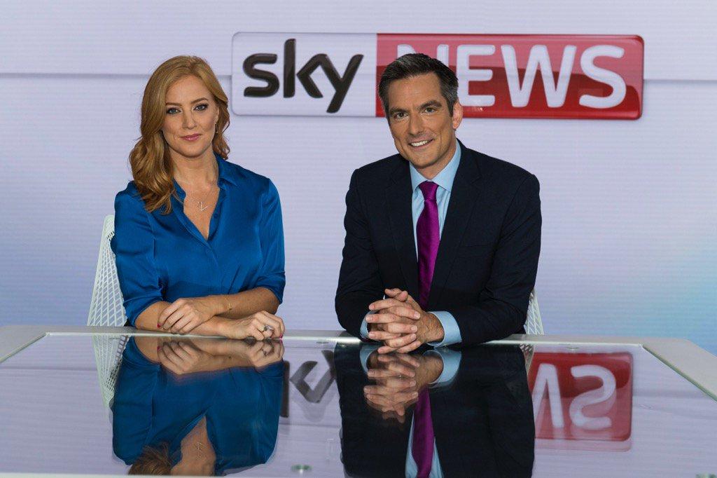 Sarah-Jane Mee and Jonathan Samuels named new presenters of Sky News Sunrise