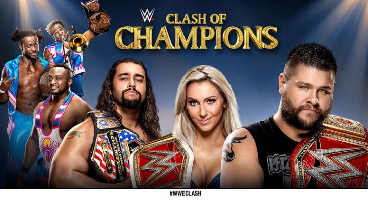wwe-clash-of-champions-wweclash-charlotte-kevin-owens-rusev-the-new-day