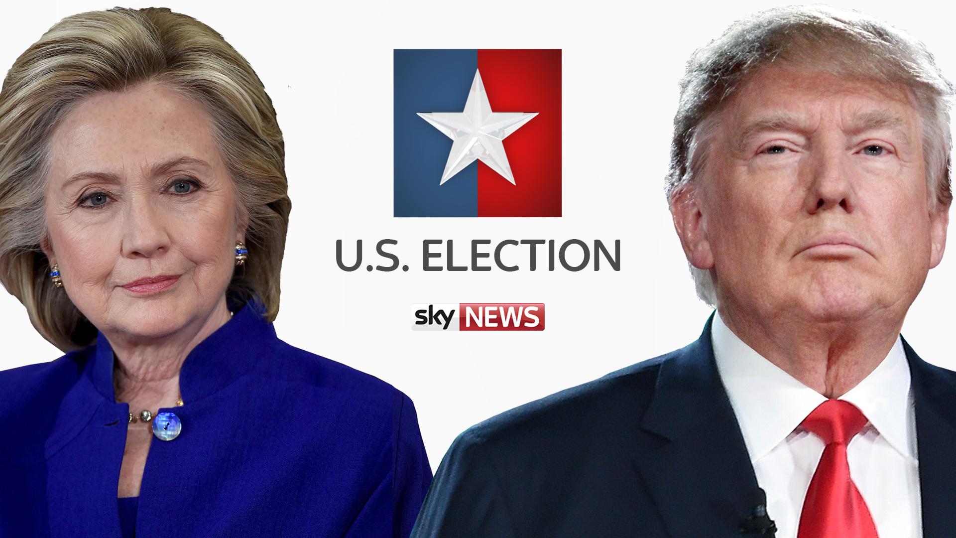 U.S. Election Results 2016 – Live TV Coverage on BBC, ITV, Sky News