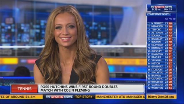 Sky Sports News HQ presenter Kate Abdo joins Fox Sports