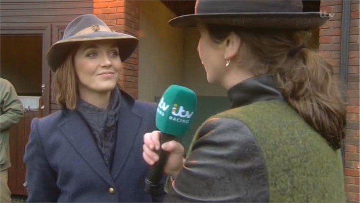 Victoria Pendleton - Images - ITV Horse Racing