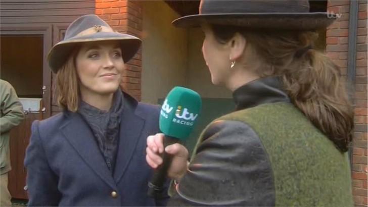 Victoria Pendleton - Images - ITV Horse Racing