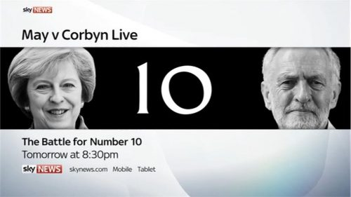 Battle for Number 10 - Islam and Paxman - Sky News Promo 2017 05-28 23-13-00