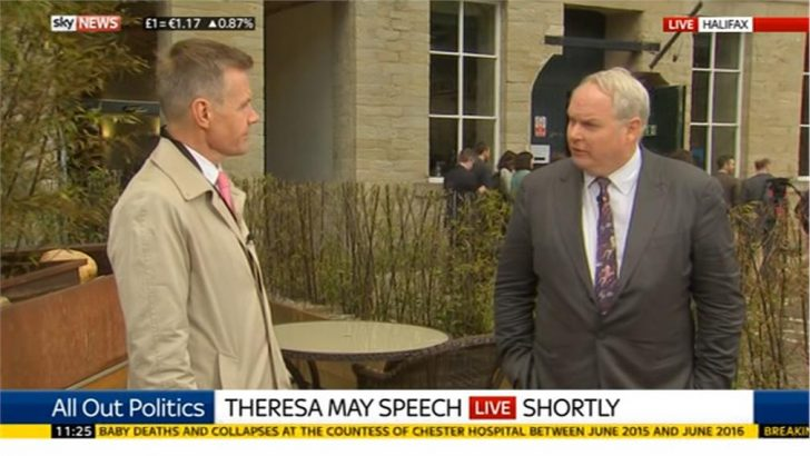 Sky News blocked from Conservative Party due to Political Coverage?