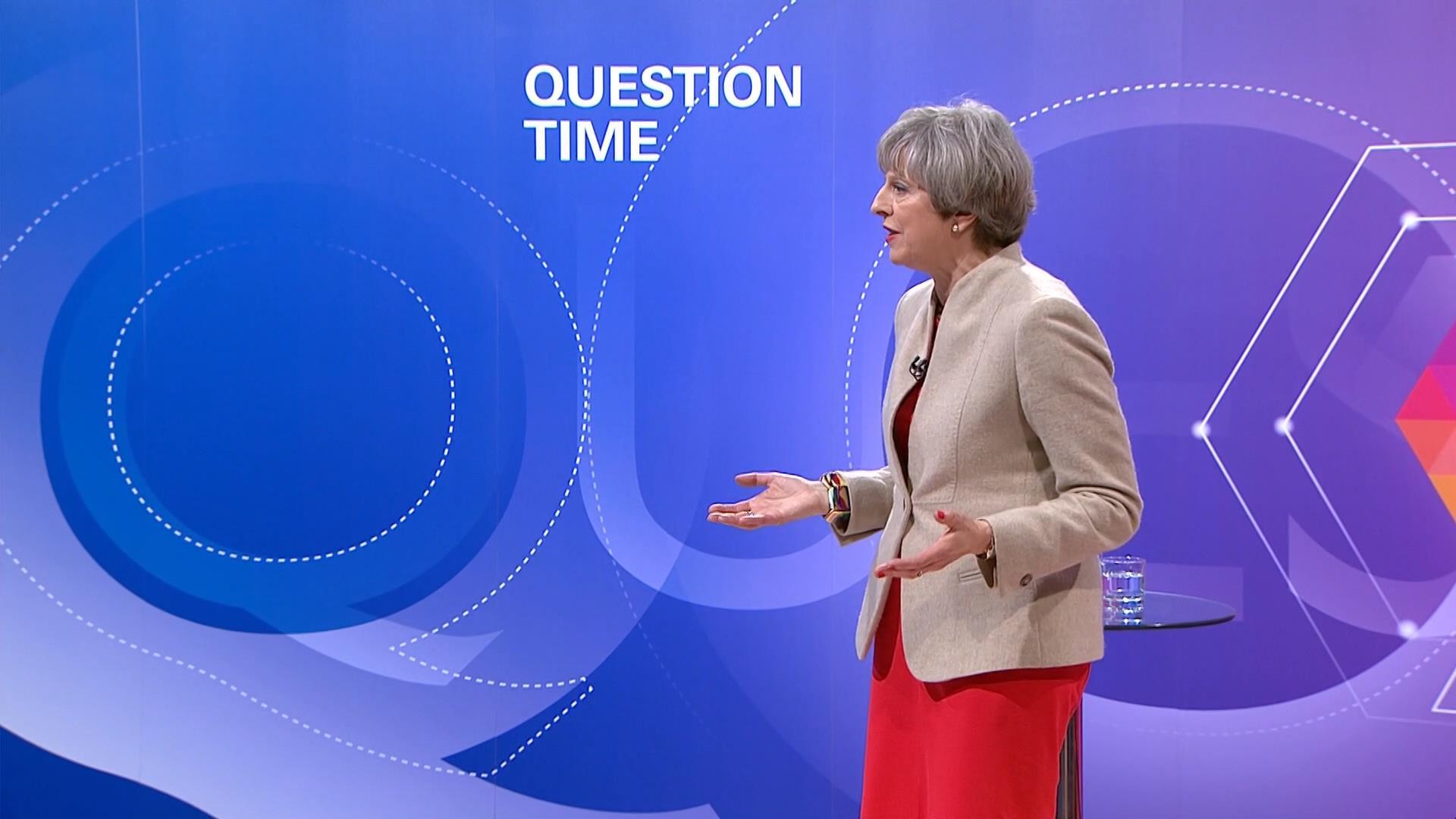 Bbc Leaders Question Time 2017 Presentation Bbc News