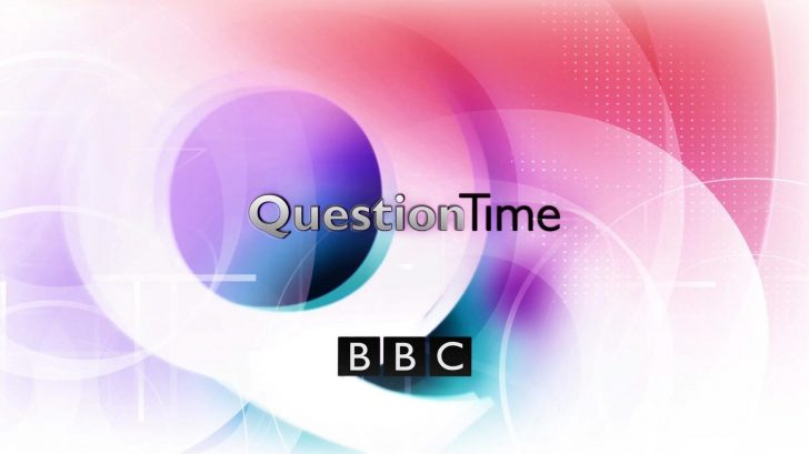 Who's on tonight's Question Time (11th Jan 2018)? Dominic Raab, Piers Morgan