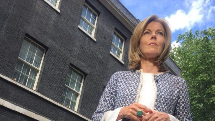 Mary Nightingale presents Evening News from Downing Street