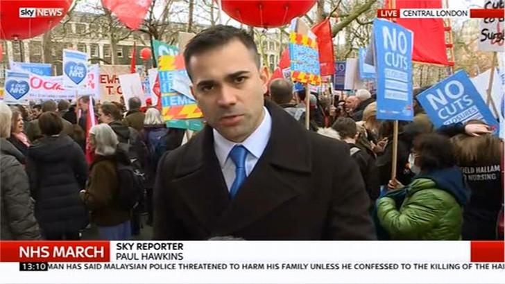 Paul Hawkins Images - Sky News