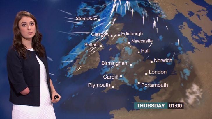 Lucy Martin BBC Weather Presenter (1)