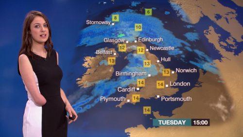 Lucy Martin BBC Weather Presenter (6)