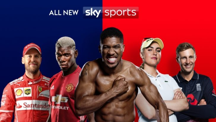 New Sky Sports 2017