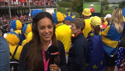 Image of Sky Sports Golf Reporter Henni Goya (Zuël)