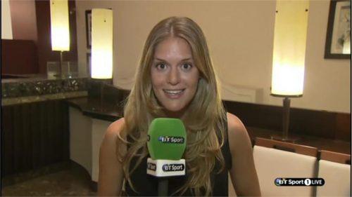 Caroline De Moraes - BT Sport